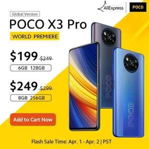 Смартфон POCO X3 PRO 6/128,8/256 Global Version ($199 с 01.04)