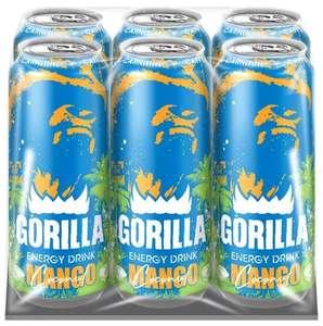 Энергетический напиток Gorilla Mango-Coconut, (38руб \ банка, по акции 3=4)