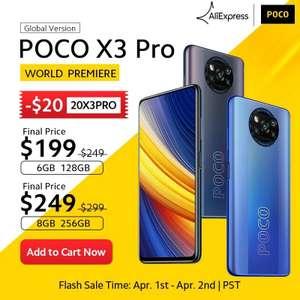 Смартфон POCO X3 PRO 8/256 Gb