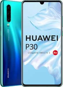 [Не везде] Смартфон Huawei P30 128GB Aurora