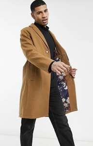 Пальто с добавлением шерсти Harry Brown (цена с промокодом ASOSNEWYES для новых пользователей - 4312₽)