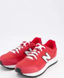 Красные кроссовки New Balance 527