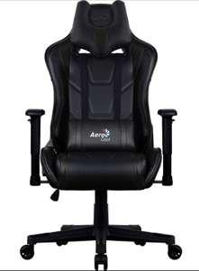 Кресло игровое Aerocool AC220 AIR-B черный
