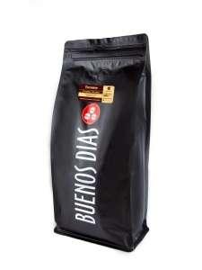 Кофе Паганини BUENOS DIAS (75% арабика и 25% робуста) в зёрнах, уп. 1 кг