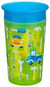 [МСК] Чашка непроливайка Munchkin Miracle 360° Deco 12295, машинки зеленый (12 мес.+)