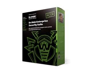 Антивирус Dr.Web security space на 12 месяцев на 3 ПК