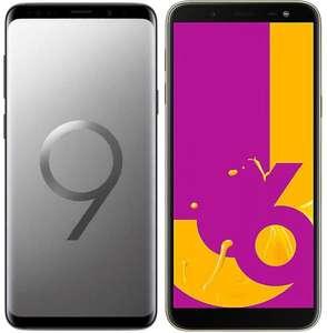 Samsung S9 + Samsung J6
