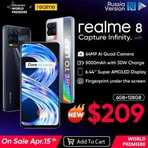 Смартфон realme 8 6+128 Гб