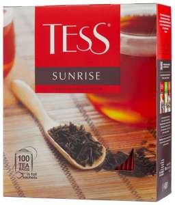 Чай Tess Sunrise, 100 пакетиков
