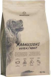 Запеченный сухой корм Magnussons Adult для взрослых собак 4,5 кг (Швеция) на Tmall