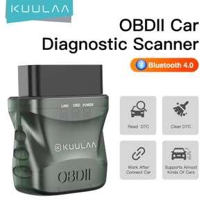 Автомобильный диагностический сканер KUULAA KL-DW006 (Bluetooth 4.0)