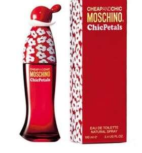 Туалетная вода Moschino Тестер Cheap and Chic Chic Petals 100мл