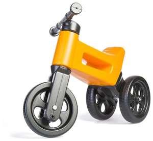 Беговел FUNNY WHEELS Rider Classic оранжевый (для детей 1,5-3 лет)