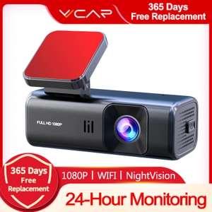 Автомобильный видеорегистратор VVCAR D135 Full HD, Wi-Fi