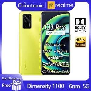 Смартфон realme Q3 Pro 5G 6+128/8+128/8+256 Гб
