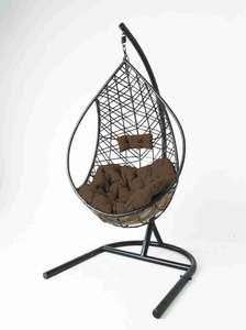 Кресло подвесное с опорой в комплекте и подушкой Greengard ОК-Адель GG004-1.КПП8.26/B7