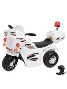 Аккумуляторный мотоцикл Kreiss Полиция 6V