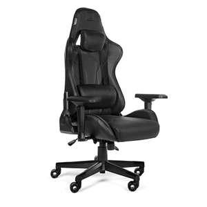 Игровое кресло WARP Xn (карбон, экокожа, алькантара, регулируемый угол наклона, механизм качания) на Tmall