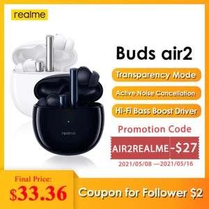 TWS наушники Realme Buds Air 2