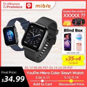 Смарт часы YouPin Mibro Color (новинка)