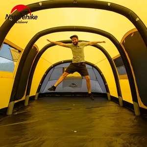 Палатка Naturehike на 10 человек (четыре спальни и одна гостиная)