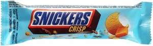 """[Иваново] Мороженое Snickers """"Crisp"""" с карамелью и арахисом, в глазури с рисовыми шариками. 34,5гр"""