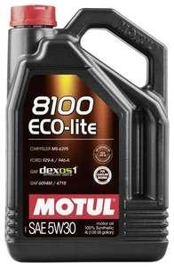 Синтетическое моторное масло Motul 8100 Eco-lite 5W30 4 л