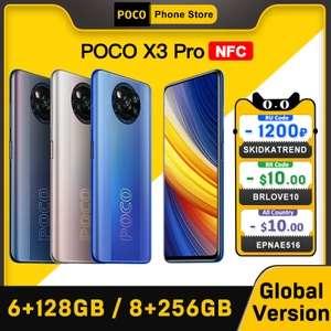 Смартфон POCO X3 Pro 6+128 Gb (NFC, IPS, 5160 mAh, Snap 860)
