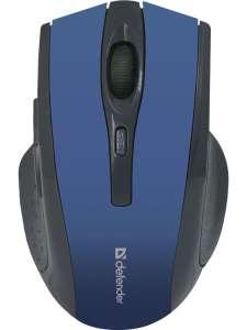 Беспроводная мышь Defender 6 кнопок