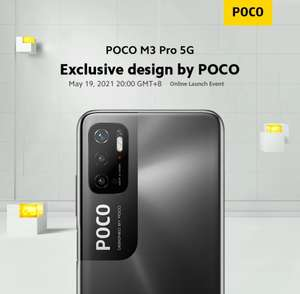 Смартфон POCO M3 Pro 5G 4+64GB (при наличии купона продавца на 10$=757₽)
