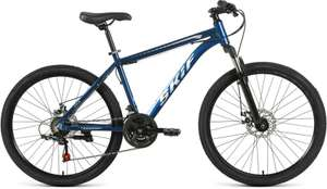 "Велосипед Skif 26 Disc (2021) горный рам.:17"" кол.:26"" темно-синий/серебристый 15кг (RBKK1M36G004)"