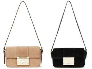 Сумка Adam Suede Shoulder Bag DKNY