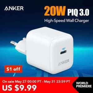 Зарядное устройство Anker PowerPort III 20W PIQ 3.0