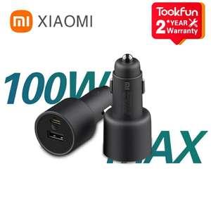 Автомобильное зарядное устройство Xiaomi CC07ZM 100 Вт