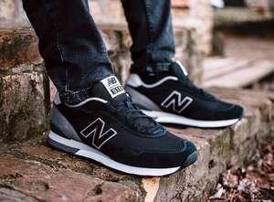 Черные кроссовки New Balance 515 Classic