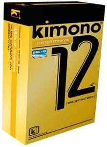 Презервативы Kimono ультратонкие, 12 штук