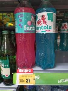 Лимонад «Fantola» Bubble Gum, 1л и Клубничный пломбир, 1л