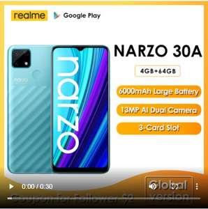 """Смартфон Realme Narzo 30A 4/64, G85, 6.5"""", 6000 mAh"""
