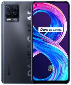 Смартфон Realme 8 Pro 6/128GB + в подарок беспроводные наушники Jays t-Seven