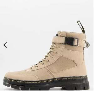Бежевые ботинки Dr Martens Combs Tech