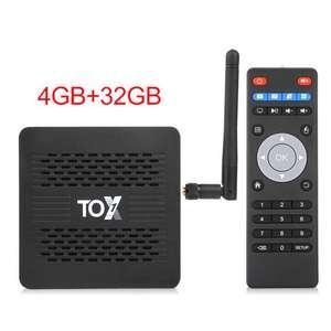 TOX1 Android Tv box 9 Smart Tv box 4 ГБ 32 ГБ