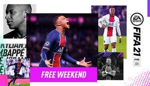 Бесплатные выходные FIFA 21 в Steam