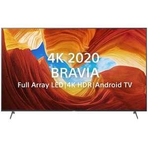 "[Не везде] TB 55"" Sony KD-55XH9077 HDMI 2.1 120 Гц Android TV 4K Ultra HD"