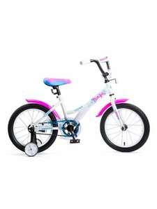 Детский велосипед Navigator Bingo (ВМ16136/ВМ16151) белый/розовый (требует финальной сборки)