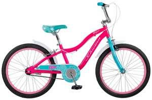 Детский велосипед Schwinn Elm 20 фиолетовый/черный