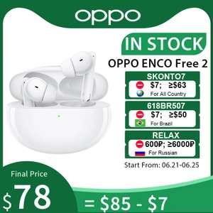 Наушники TWS OPPO ENCO Free 2