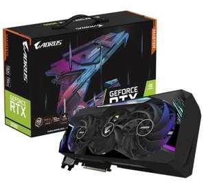 Видеокарта GeForce RTX3080 Gigabyte Aorus Master 10 GB OC Enthusiast