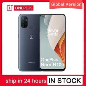 OnePlus Nord N100 4+64 GB (IPS, 90 Гц, 5000 мАч, стерео, Type-C)