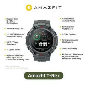 Смарт-часы Amazfit T-Rex