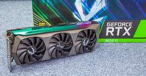 Видеокарта ZOTAC GAMING GeForce RTX 3070 Ti AMP! Holo